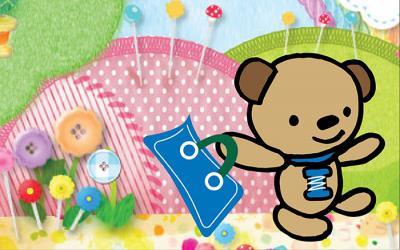 Meet Snips, the JUKI bear mascot!