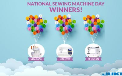 National Sewing Machine Day Winner Announcement