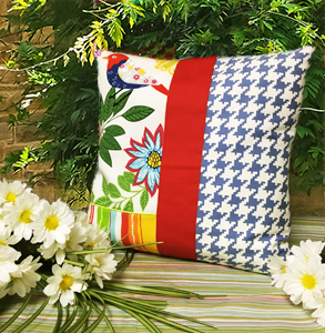Summer Flutter Pillow