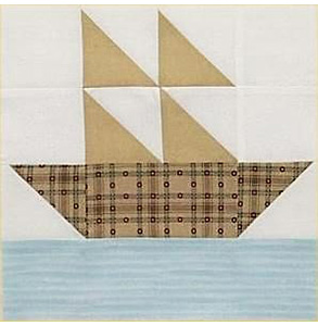 Summer Sailboat Block