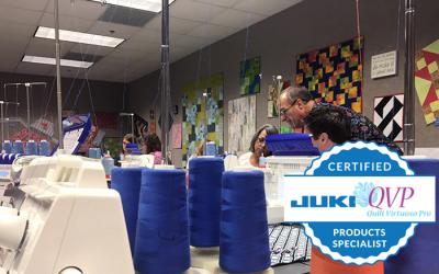 JUKI's First QVP Products Specialist Training