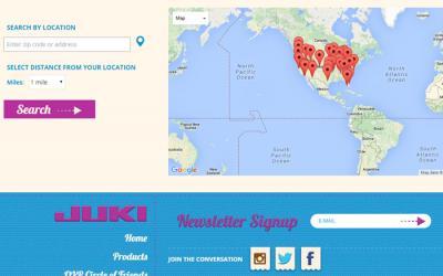 Juki introduces a New QVP Dealer Network & Dealer Locator